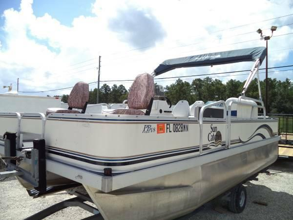 2004 4pts g3 pontoon 40hp yamaha trl trolling motor for Boat motors for sale in florida