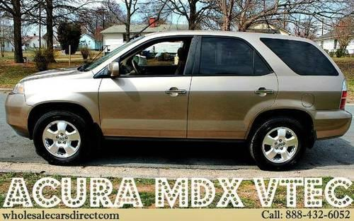 2004 acura mdx 4d sport utility base for sale in guthrie north carolina classified. Black Bedroom Furniture Sets. Home Design Ideas