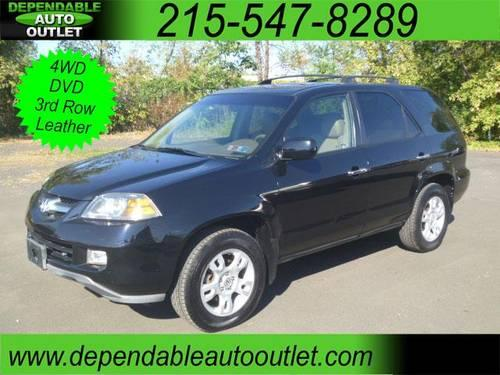 2004 Acura Mdx Touring With Rear Dvd System For Sale In