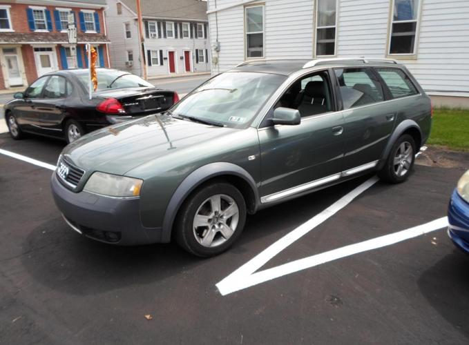 2004 audi allroad quattro 2 7 t with tiptronic for sale in donegal heights pennsylvania. Black Bedroom Furniture Sets. Home Design Ideas