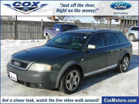 2004 audi allroad quattro 4 door wagon for sale in alden for Cox motors new richmond wi