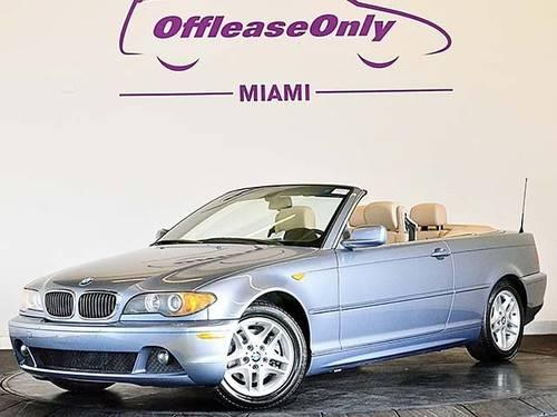2004 bmw 3 series convertible 325ci convertible for sale. Black Bedroom Furniture Sets. Home Design Ideas