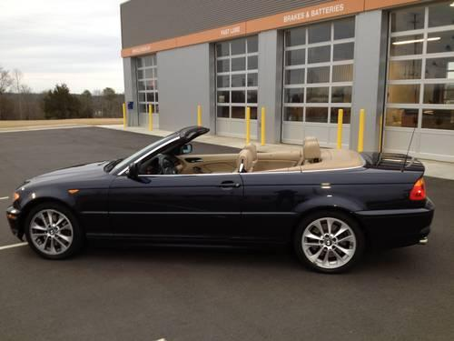 2004 bmw 330ci convertible super clean for sale in greenville south carolina classified. Black Bedroom Furniture Sets. Home Design Ideas