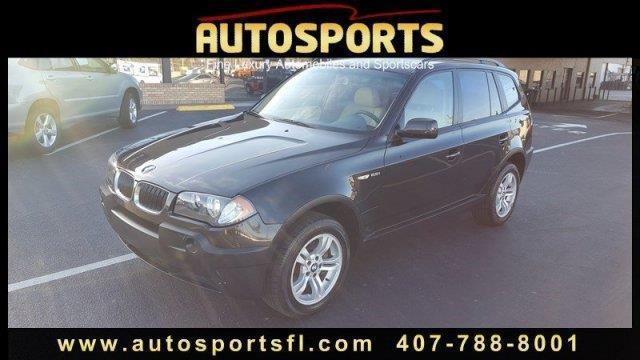 2004 BMW X3 2.5i AWD 2.5i 4dr SUV