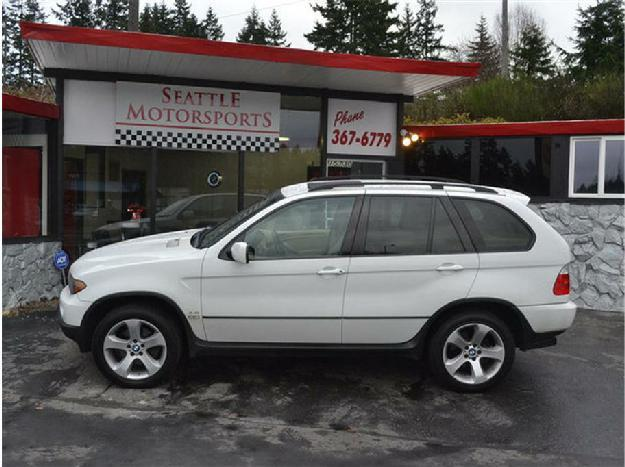2004 bmw x5 sport utility 4d for sale in shoreline washington classified. Black Bedroom Furniture Sets. Home Design Ideas