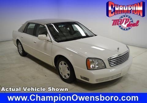 2004 Cadillac Deville 4 Door Sedan For Sale In Owensboro