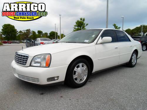 2004 cadillac deville 4 dr sedan for sale in west palm beach florida classified. Black Bedroom Furniture Sets. Home Design Ideas