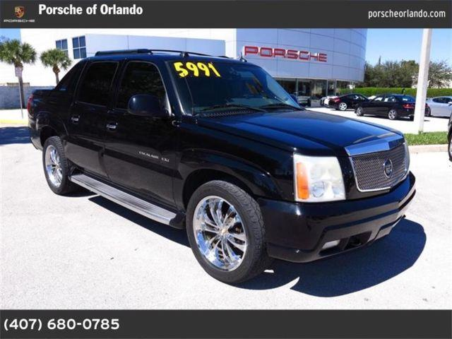 2004 cadillac escalade ext for sale in eatonville florida classified. Black Bedroom Furniture Sets. Home Design Ideas