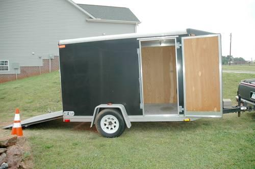 2004 car mate motorcycle utility trailer price reduced for sale in spartanburg south. Black Bedroom Furniture Sets. Home Design Ideas