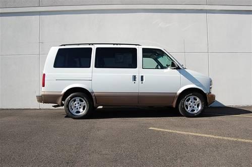 2004 chevrolet astro minivan 3dr conversion van 4 3l ls for sale in longview washington. Black Bedroom Furniture Sets. Home Design Ideas