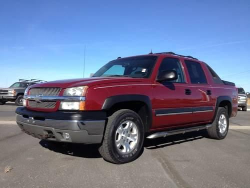 2004 chevrolet avalanche crew cab pickup short bed z71. Black Bedroom Furniture Sets. Home Design Ideas