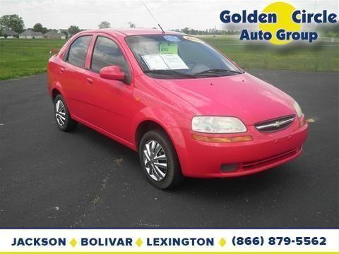 Golden Circle Ford Jackson Tn >> 2004 CHEVROLET AVEO 4 DOOR SEDAN for Sale in Jackson, Tennessee Classified | AmericanListed.com