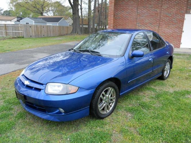 2004 chevrolet cavalier sedan ls sport automatic with only 94k mls for sale in norfolk virginia. Black Bedroom Furniture Sets. Home Design Ideas