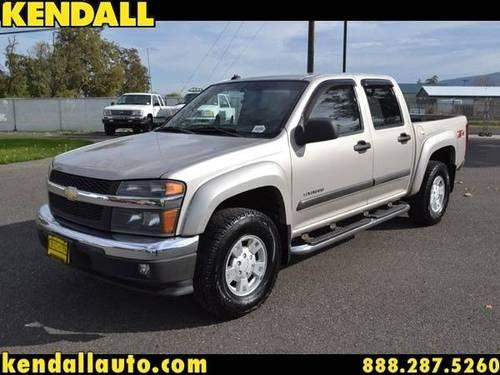 2004 chevrolet colorado crew cab pickup lt for sale in lewiston idaho classified. Black Bedroom Furniture Sets. Home Design Ideas
