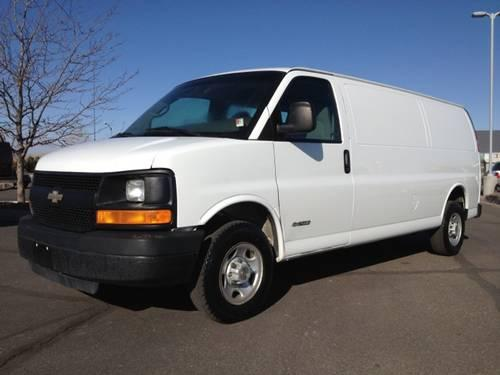 2004 chevrolet express cargo van full size cargo van for sale in colona colorado classified. Black Bedroom Furniture Sets. Home Design Ideas