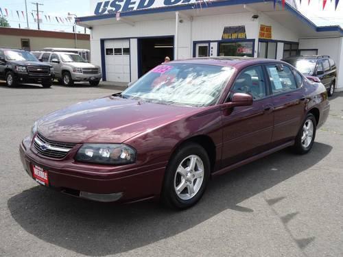 2004 chevrolet impala 4 door sedan ls for sale in spokane washington classified. Black Bedroom Furniture Sets. Home Design Ideas