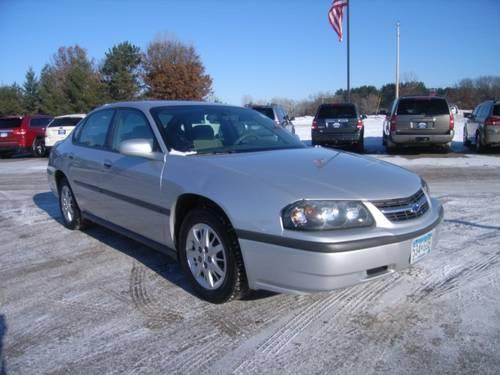 2004 chevrolet impala 4dr car for sale in isanti minnesota classified. Black Bedroom Furniture Sets. Home Design Ideas