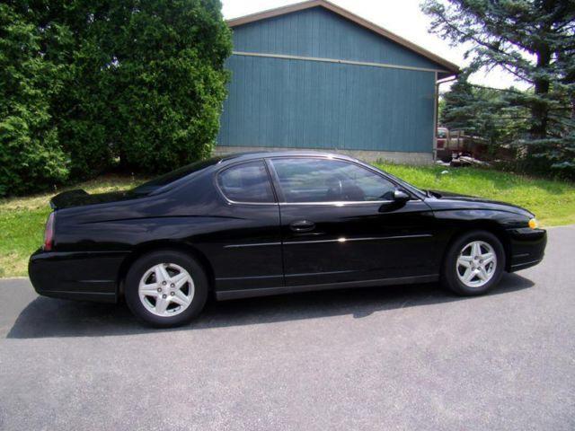 2004 chevrolet monte carlo ls v 6 black auto for sale in. Black Bedroom Furniture Sets. Home Design Ideas
