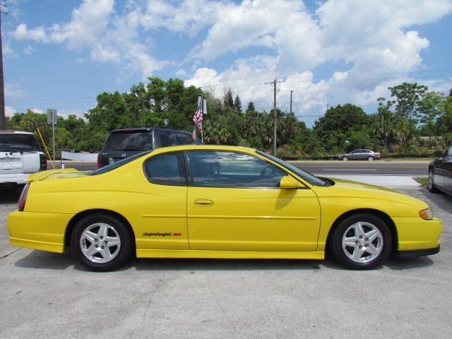 2004 chevrolet monte carlo ss supercharged 2dr coupe sport yellow for sale in cocoa florida. Black Bedroom Furniture Sets. Home Design Ideas