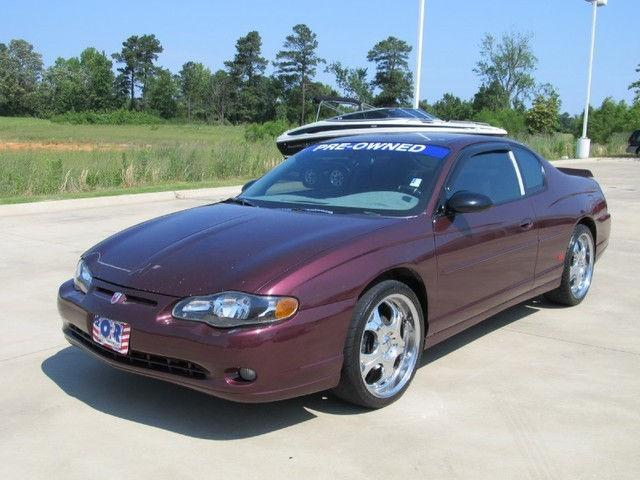 2004 chevrolet monte carlo ss for sale in texarkana texas. Black Bedroom Furniture Sets. Home Design Ideas