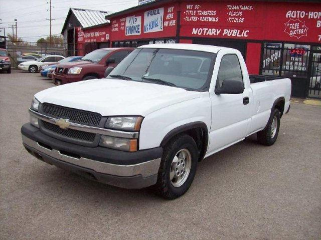 2004 chevrolet silverado 1500 for sale in el paso texas classified. Black Bedroom Furniture Sets. Home Design Ideas