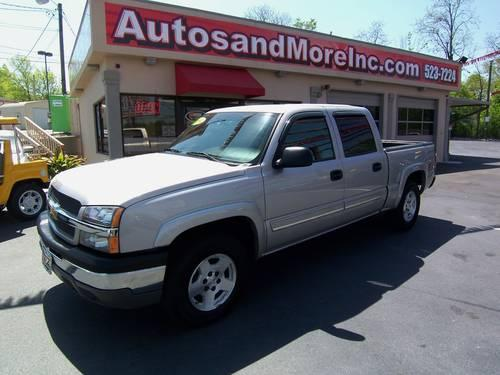 2004 chevrolet silverado 1500 z71 4x4 crew cab local trade for sale in knoxville tennessee. Black Bedroom Furniture Sets. Home Design Ideas