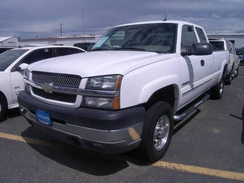 2004 chevrolet silverado 2500hd 4x4 extended cab for sale. Black Bedroom Furniture Sets. Home Design Ideas