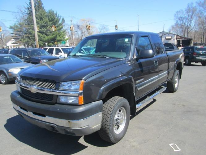 2004 chevrolet silverado 2500hd ext cab 4wd work truck for. Black Bedroom Furniture Sets. Home Design Ideas