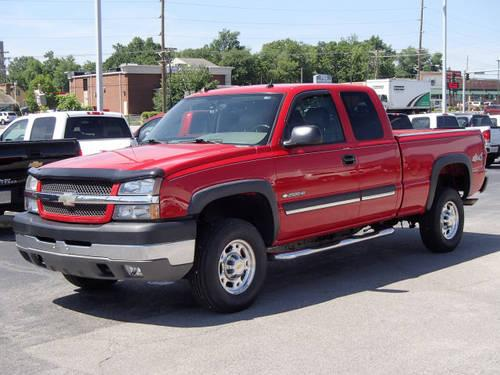 2004 chevrolet silverado 2500hd extended cab pickup 4x4 for sale in grantfork illinois. Black Bedroom Furniture Sets. Home Design Ideas