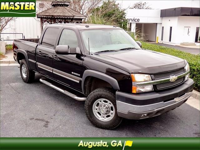 2004 chevrolet silverado 2500hd work truck 4dr crew cab work truck 4wd sb for sale in augusta. Black Bedroom Furniture Sets. Home Design Ideas