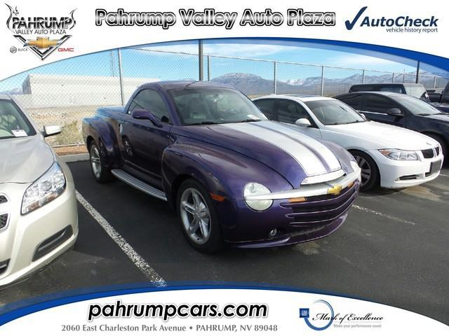 2004 Chevrolet SSR LS 2dr Regular Cab Convertible LS