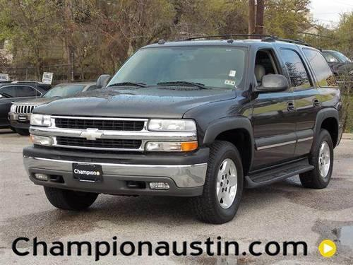 2004 chevrolet tahoe for sale in austin texas classified. Black Bedroom Furniture Sets. Home Design Ideas
