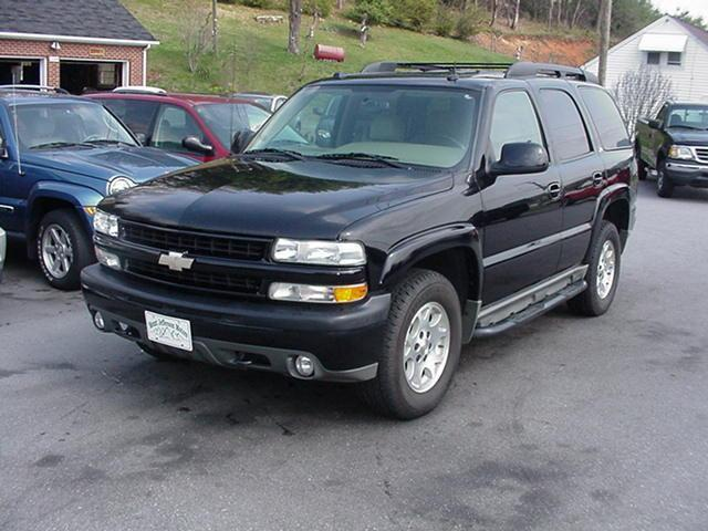 2004 chevrolet tahoe z71 for sale in jefferson north carolina classified. Black Bedroom Furniture Sets. Home Design Ideas