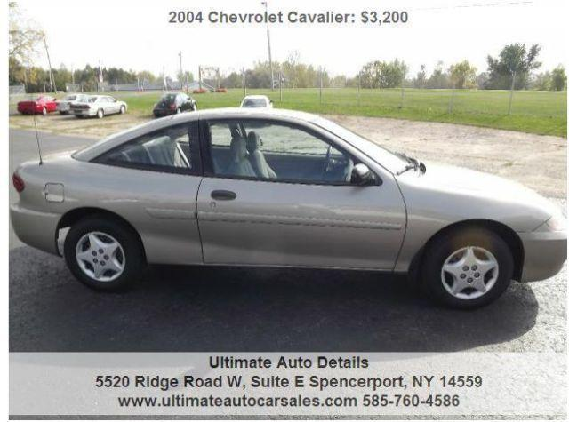 2004 chevy cavalier 2dr 72000 original miles for sale in spencerport new york classified. Black Bedroom Furniture Sets. Home Design Ideas