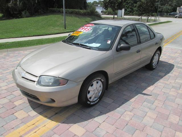 2004 chevy cavalier 4 dr for sale in melbourne florida classified. Black Bedroom Furniture Sets. Home Design Ideas