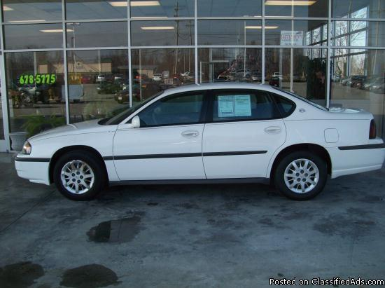 2004 chevy impala for sale in dry fork kentucky classified. Black Bedroom Furniture Sets. Home Design Ideas