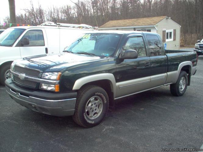 2004 chevy silverado 1500 for sale in duncansville pennsylvania classified. Black Bedroom Furniture Sets. Home Design Ideas