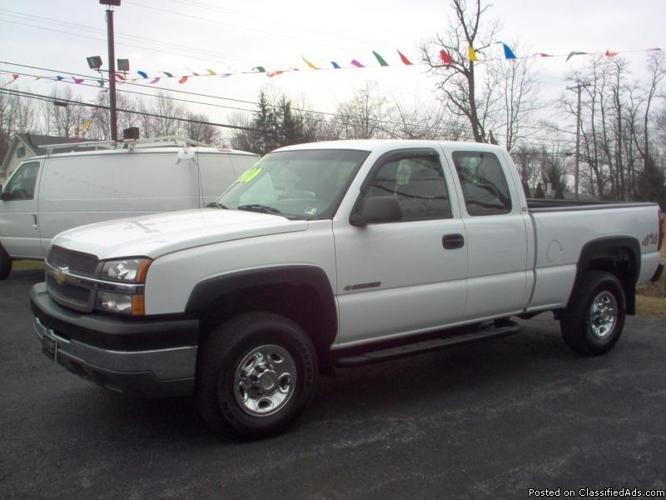 2004 chevy silverado 2500 hd for sale in duncansville pennsylvania classified. Black Bedroom Furniture Sets. Home Design Ideas