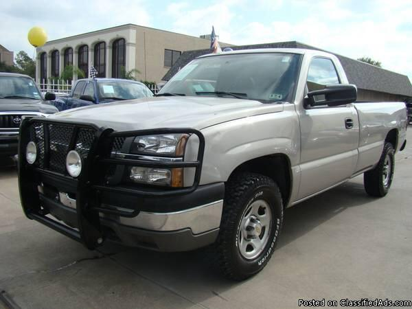 2004 chevy silverado 5 3l v8 4x4 for sale in fresno texas classified. Black Bedroom Furniture Sets. Home Design Ideas