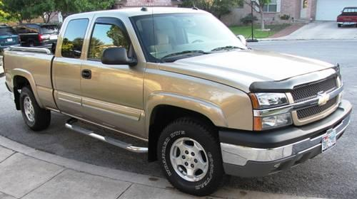 2004 chevy silverado ext cab z71 4x4 6 5 bed 5 3l gold 94 8xx for sale in san antonio. Black Bedroom Furniture Sets. Home Design Ideas