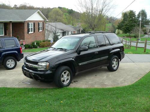 2004 chevy trailblazer ls 4x4 black 76k miles obo for sale in elizabethton tennessee classified. Black Bedroom Furniture Sets. Home Design Ideas
