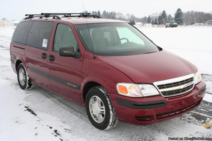 2004 Chevy Venture LS Wheelchair Accessible Van