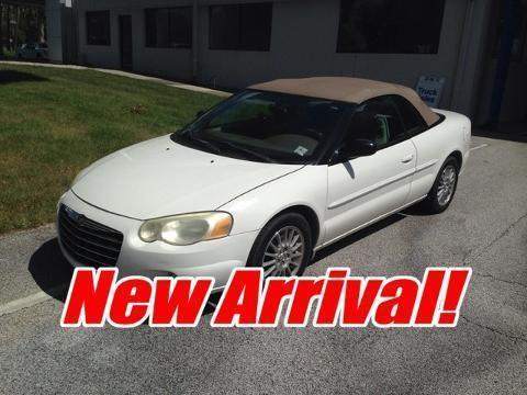 2004 CHRYSLER SEBRING 2 DOOR CONVERTIBLE