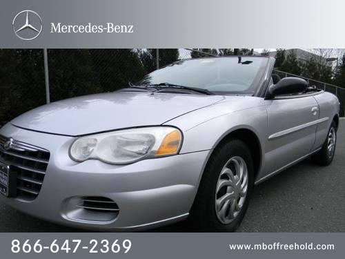 2004 chrysler sebring convertible 2004 2dr convertible lx for sale in east freehold new jersey. Black Bedroom Furniture Sets. Home Design Ideas
