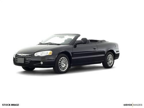 2004 chrysler sebring convertible for sale in mckees rocks pennsylvania classified. Black Bedroom Furniture Sets. Home Design Ideas