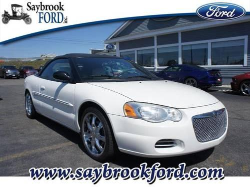 2004 chrysler sebring convertible gtc for sale in fenwick connecticut classified. Black Bedroom Furniture Sets. Home Design Ideas