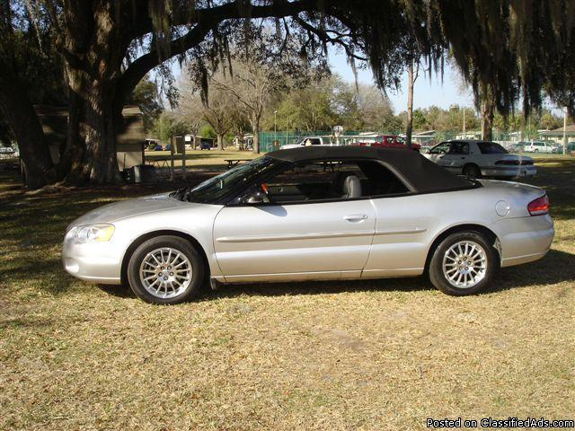 """Julians Auto Showcase >> 2004 Chrysler Sebring """"Convertible"""" LXi for Sale in ..."""