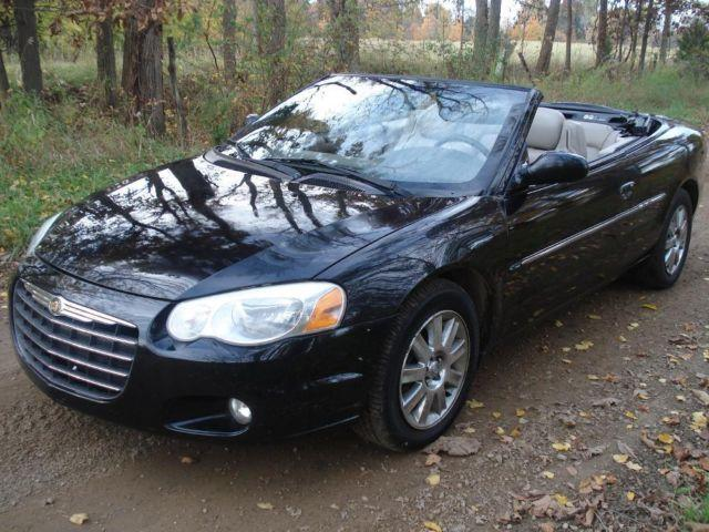 2004 chrysler sebring limited convertible for sale in. Black Bedroom Furniture Sets. Home Design Ideas