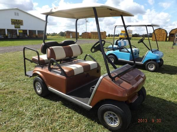 2004 Copper Club Car Gas Golf Cart For Sale In Owosso
