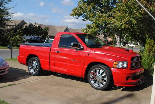2004 Dodge 1500 SRT-10 Viper Truck, Red